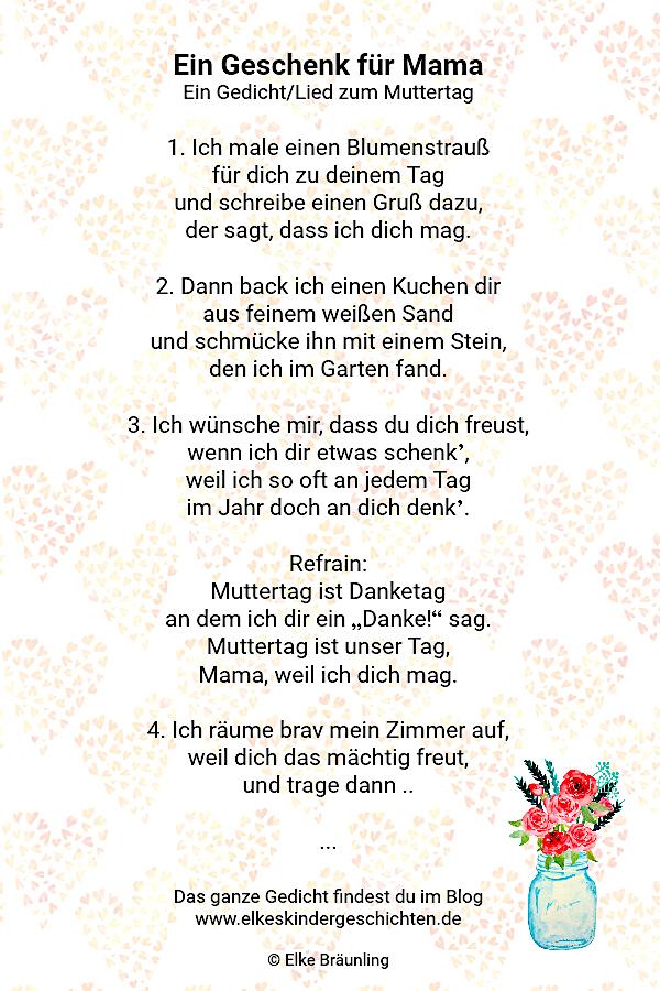 Ein Geschenk Für Mama Elkes Kindergeschichten